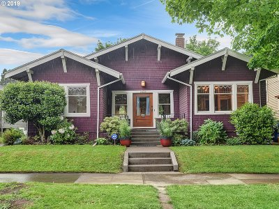Portland Single Family Home For Sale: 2424 NE 48th Ave