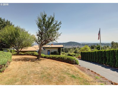Happy Valley Single Family Home For Sale: 10090 SE Cresthill Rd