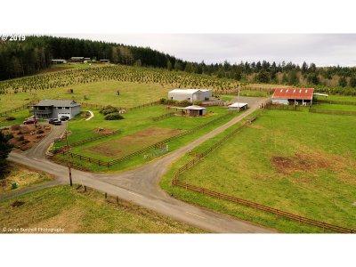 Rainier Single Family Home For Sale: 75411 Price Rd