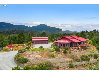 Manzanita Single Family Home For Sale: 10100 Neahkahnie Creek Rd