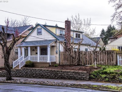Single Family Home For Sale: 1112 Taylor St