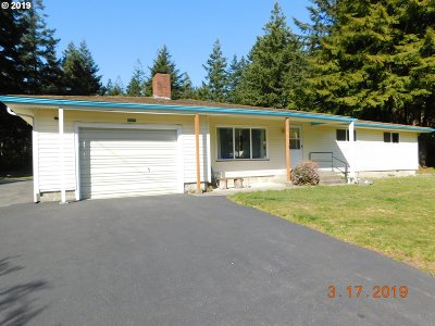 Port Orford Single Family Home For Sale: 92697 Silver Butte Rd
