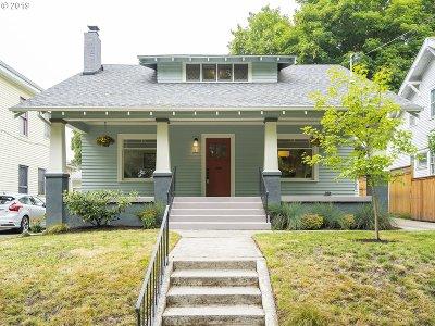 Portland Single Family Home For Sale: 2933 NE 9th Ave
