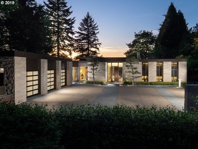 Lake Oswego OR Single Family Home For Sale: $5,498,000