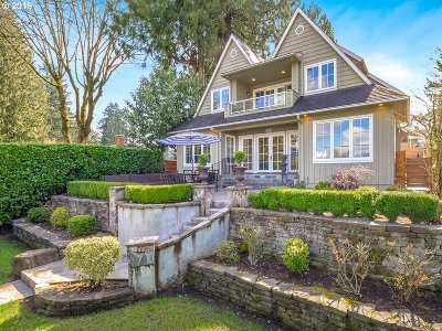 Lake Oswego Single Family Home For Sale: 408 Northshore Rd