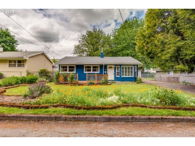 Single Family Home For Sale: 10021 N Tioga Ave