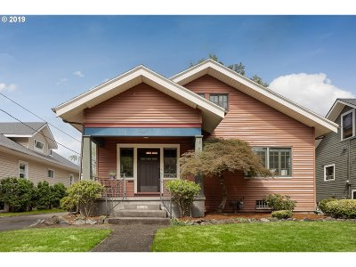 Portland Single Family Home For Sale: 2333 NE 47th Ave
