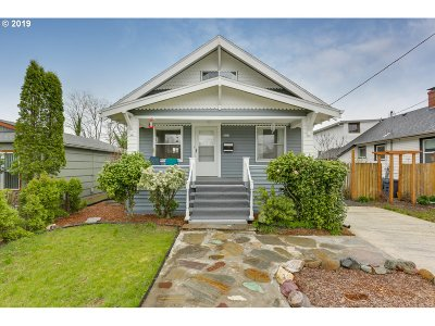 Portland Single Family Home For Sale: 4309 SE 66th Ave
