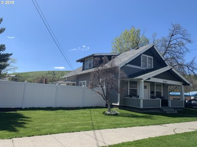 Umatilla County Single Family Home For Sale: 347 SW 2nd Ave