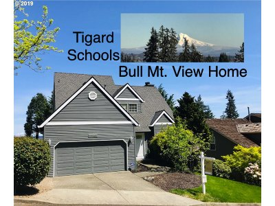 Tigard Single Family Home For Sale: 13145 SW Clearview Way