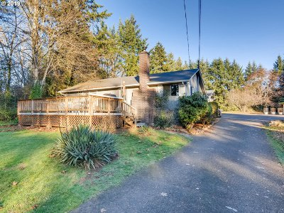Canby Single Family Home Pending: 13649 S Union Hall Rd