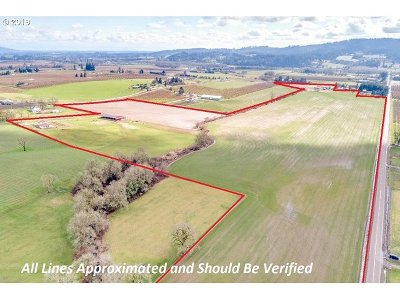 Newberg, Dundee, Lafayette Farm & Ranch For Sale: 16785 NE Calkins Ln