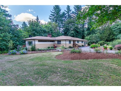 Clackamas County Single Family Home For Sale: 22496 S Bartholomew Rd