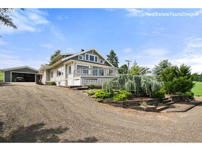 Yamhill Single Family Home For Sale: 20275 NW Bishop Scott Rd
