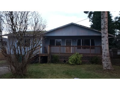 Vernonia Single Family Home For Sale: 1187 Grove St