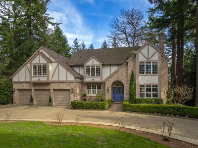 Multnomah County Single Family Home For Sale: 0843 SW Palatine Hill Rd
