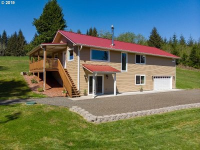 Astoria Single Family Home For Sale: 91286 Walluski Ranch Rd