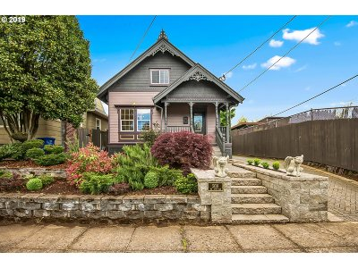 Portland Single Family Home For Sale: 5018 NE 10th Ave