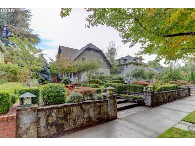 Clackamas County, Multnomah County, Washington County Single Family Home For Sale: 2228 NE 21st Ave