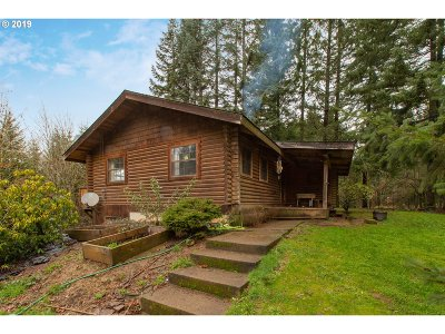 Single Family Home For Sale: 26601 NW Bacona Rd