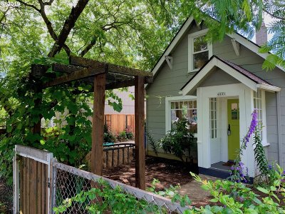 Single Family Home For Sale: 4805 SE 77th Ave