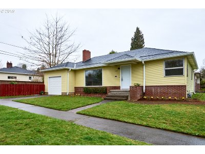 Single Family Home For Sale: 7632 SE 42nd Ave