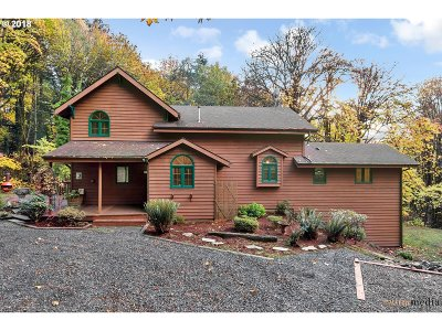 Portland Single Family Home For Sale: 8313 NW Skyline Blvd
