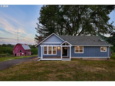 Newberg, Dundee, Lafayette Single Family Home For Sale: 19660 NE Niederberger Rd