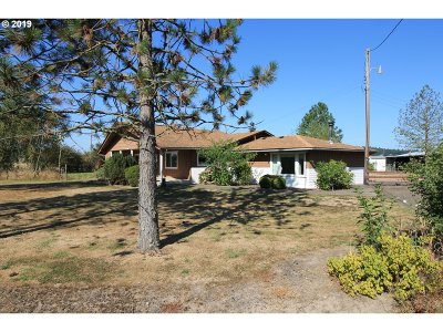 Scio Single Family Home For Sale: 37390 Farris Rd
