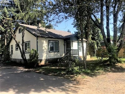 Drain Single Family Home For Sale: 112 Access Rd
