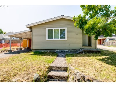 Eugene Single Family Home For Sale: 540 W 18th Ave