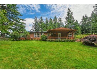 Washougal Single Family Home For Sale: 1801 SE 390th Ave