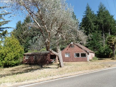 Port Orford Single Family Home For Sale: 42582 Hensley Hill Rd