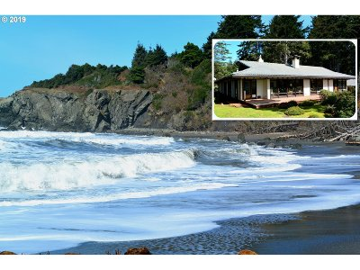 Gold Beach Single Family Home For Sale: 3200 Hwy 101 S