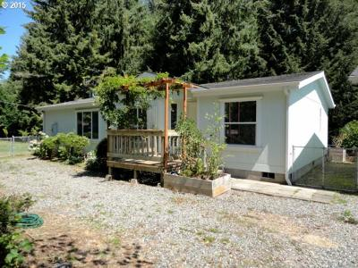 Coos Bay Single Family Home Bumpable Buyer: 63281 Shasta Rd
