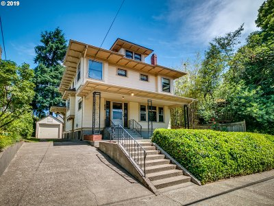 Portland Single Family Home For Sale: 3954 N Castle Ave