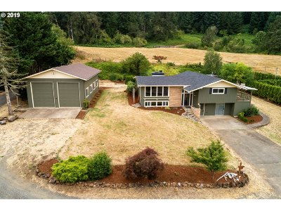 Single Family Home For Sale: 83412 Lorane Hwy
