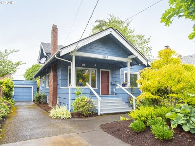 Portland Single Family Home For Sale: 3125 NE 47 Ave