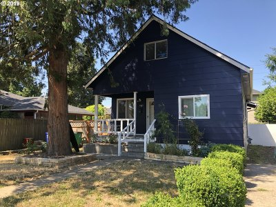 Portland Single Family Home For Sale: 7811 SE Ellis St