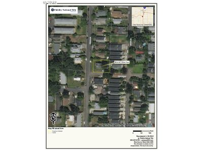 Portland Residential Lots & Land For Sale: 824 NE 92nd Ave