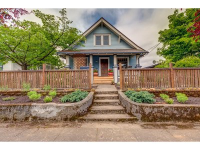 Single Family Home For Sale: 5413 NE 24th Ave
