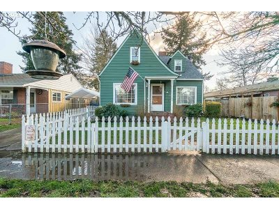 Salem Single Family Home For Sale: 920 Jefferson St NE