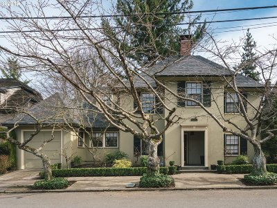 Portland Single Family Home For Sale: 3102 SW Fairview Blvd