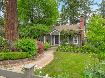 Lake Oswego Single Family Home For Sale: 171 5th St