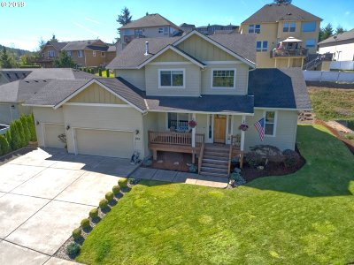 Kalama Single Family Home For Sale: 850 Waters Watch Rd