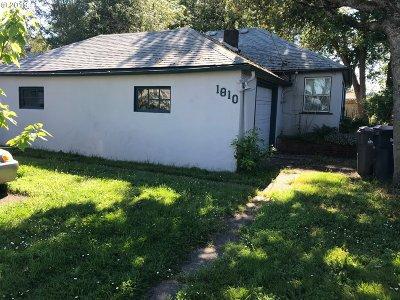 Eugene Single Family Home For Sale: 1810 Grant St