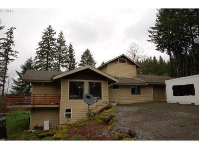 Estacada Single Family Home For Sale: 33300 SE Peaceful Ln