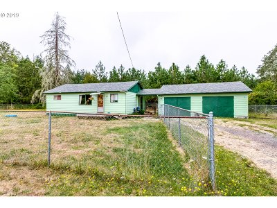 Single Family Home For Sale: 87588 Territorial Hwy