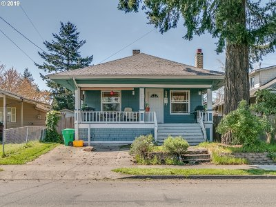 Single Family Home For Sale: 6407 SE 72nd Ave