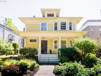 Clackamas County, Multnomah County, Washington County Multi Family Home For Sale: 1124 NE Tillamook St
